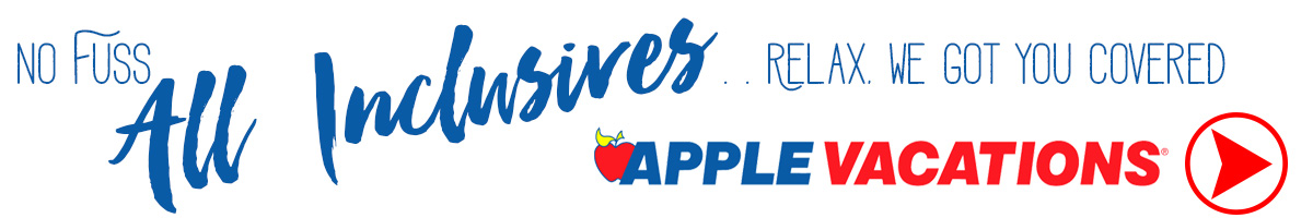All Inclusives at Apple Vacations