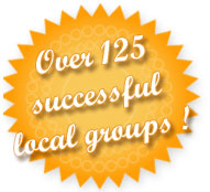 over 125 successful groups