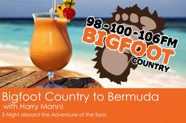 Bigfoot Country to Bermuda with Harry Mann!