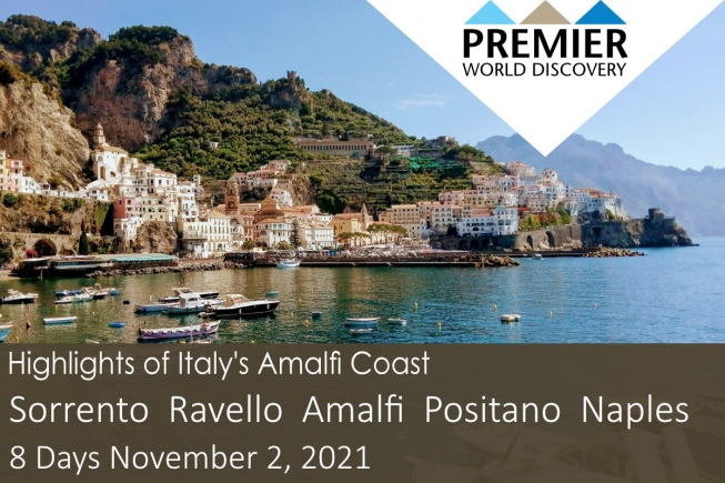 Highlights if Italy's Amalfi Coast